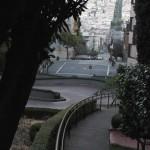 Lombard Street mit 8 Serpentinen