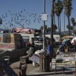 Venice Beach oder Süßer Rauch liegt in der Luft