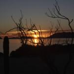 Sonnen-aufgang am Golf von Californien